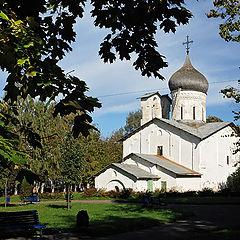 """photo """"Pskov. Nikolay-on-Usokha Church"""""""