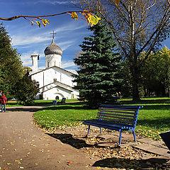 "photo ""Pskov. Nikolay-at-Usokha Church"""