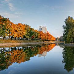 "photo ""Autumn Boats"""