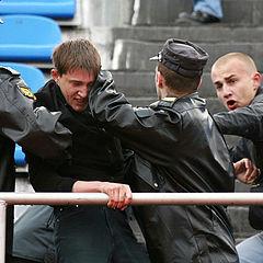 """фото """"фанаты и милиции солдаты"""""""