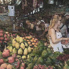 """photo """"Village supermarket"""""""