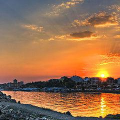 "фото ""Sundown over Nessebar"""