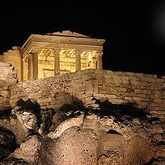 """photo """"Athens night"""""""