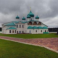 "photo ""Monastery in severe territory"""