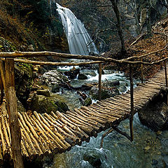 "photo ""Waterfall ""Dgur-Dgur"""""