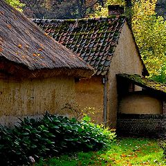 """photo """"old house with oven"""""""