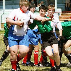 """фото """"rugby_Разные весовые категории"""""""