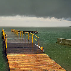 "photo ""Sevan...raining..."""