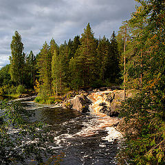 "photo ""Rapids of Tokhmaiokie"""