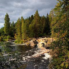 "photo ""Rapids of Tokhmaiokie"""