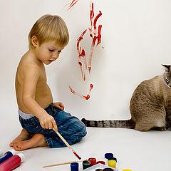"""фото """"Рисуем кота"""""""