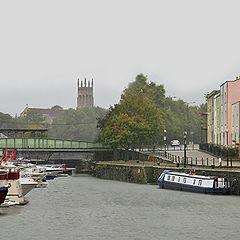"""photo """"Today in Bristol rain."""""""