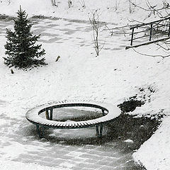 "фото ""Падал снег"""