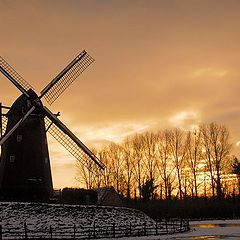 "photo ""sunset in November"""