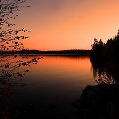 """фото """"Вечером у озера."""""""