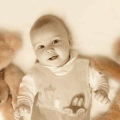 """фото """"малыш и медведки"""""""