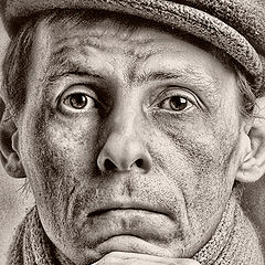 """фото """"When I will become old....(Self-portrait)"""""""