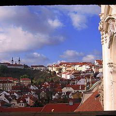 """фото """"Окно. Вид на Прагу"""""""