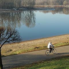 "фото ""Biking in morning"""