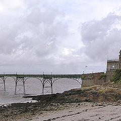 "photo ""The  a castle  on seacoast"""