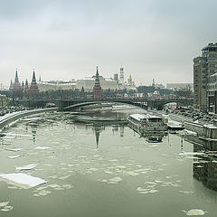 "photo ""Ice in early winter"""