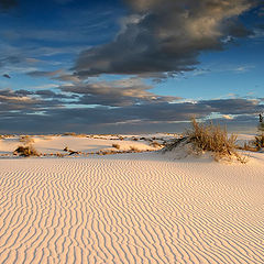 "фото ""White Sands at sunset"""