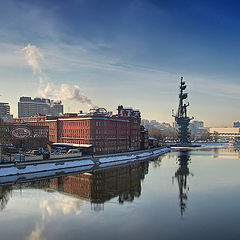 "photo ""Moscow. Winter panorama"""