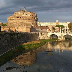 "фото ""Рим. Замок святого Ангела"""