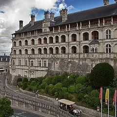 """photo """"Chateau de Blois..."""""""