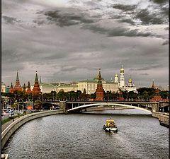 """фото """"Серая Москва,золотые купола..."""""""