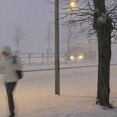 """фото """"А снег идёт..."""""""