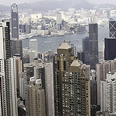 """фото """"daylight at Hong Kong city"""""""