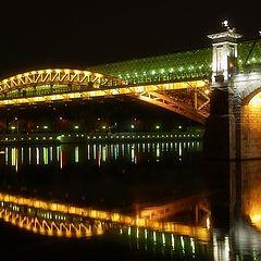 """фото """"Москва.Андреевский мост"""""""