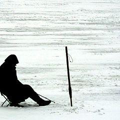 """photo """"Solitary fisherman"""""""