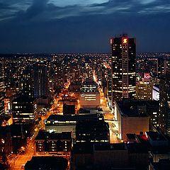 """фото """"Night City scene"""""""