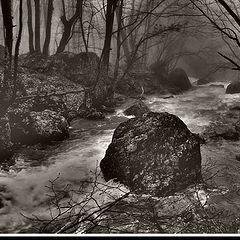 """фото """"Март,таяние ледников, Крым, река Чёрная"""""""