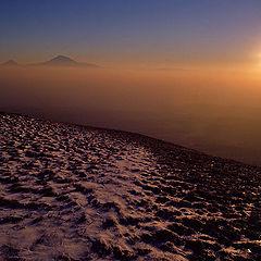 """фото """"Вид на Арарат с горы Гутанасар"""""""