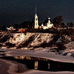 """photo """"Russian winter in Cibergino"""""""