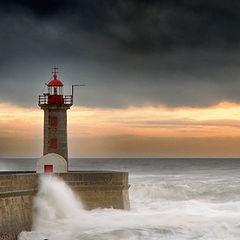 """photo """"Farol Foz do Porto"""""""