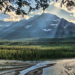 """photo """"Mountains view-2"""""""