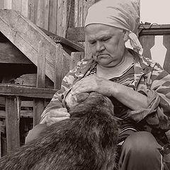 """фотоальбом """"Деревенские жители"""""""