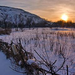 "фото ""На закате зимы"""