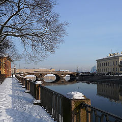 "photo ""Fontanka,  Summer Garden, February..."""