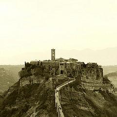 """фото """"Civita di Bagnoregio - Italy"""""""