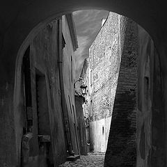 """фото """"тихо .....старый город"""""""
