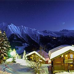 """фото """"Night Alpes"""""""