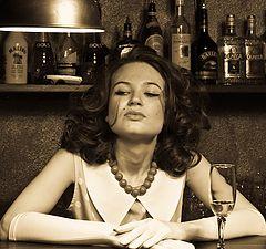 """фото """"Взгляд из за барной стойки"""""""
