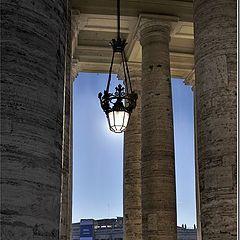 "фото ""пограничная калитка (Ватикан)"""