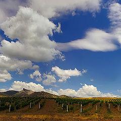 """фото """"Облака над солнечной долиной"""""""