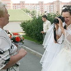 """фото """"невеста-папарацци"""""""